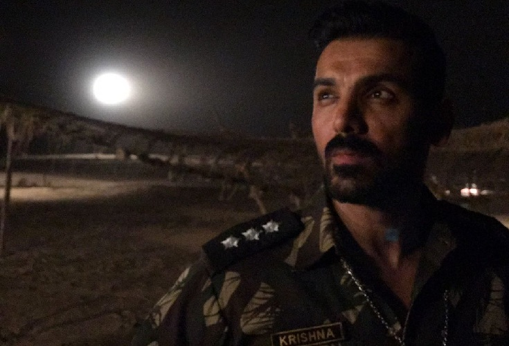 John Abraham's rugged look in Parmanu