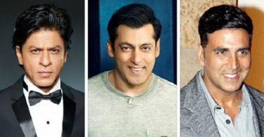 SRK, Salman, Akshay