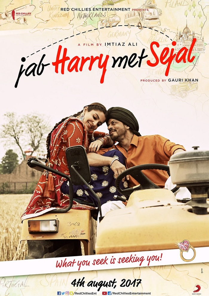 Butterfly Song Poster - Jab Harry Met Sejal