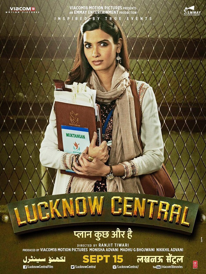 Lucknow Central Poster - Diana Penty‏