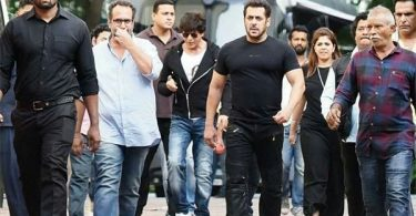 Shah Rukh and Salman Khan shoot together for Aanand L Rai's film