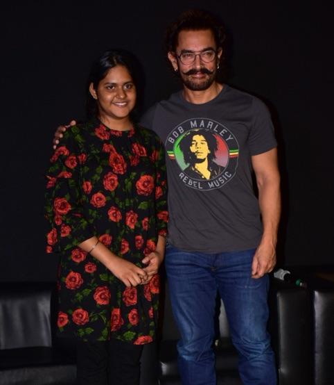 Meghna Mishra - Aamir Khan