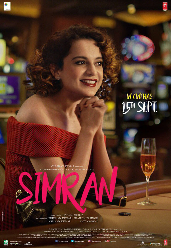 Simran New Poster