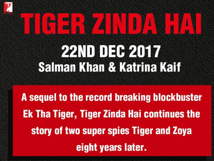 Tiger Zinda Hai release date