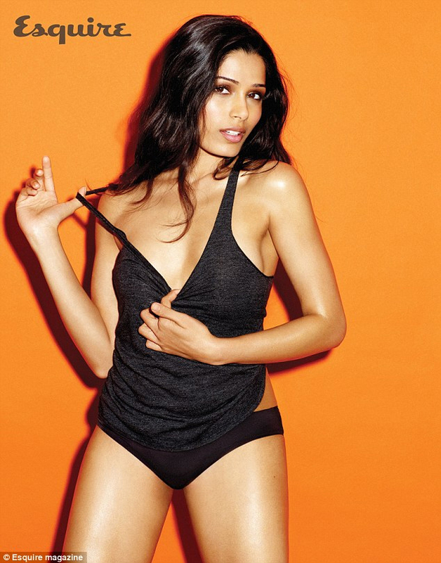 Freida Pinto scan picture of Esquire UK - April 2012