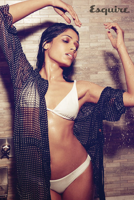 Freida Pinto - Esquire UK Magazine April 2012