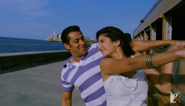 Photo: Katrina Kaif with Salman Khan