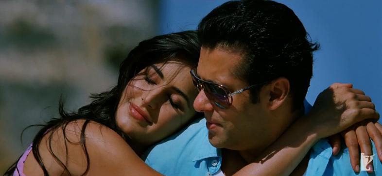 Salman romances Katrina