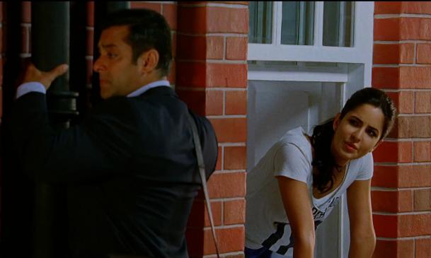 Salman Khan with Katrina Kaif - Ek Tha Tiger