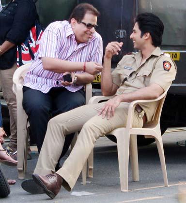 Ramesh Taurani with Shahid Kapoor