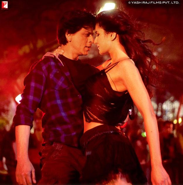 Shahrukh Khan, Katrina Kaif still from JTHJ