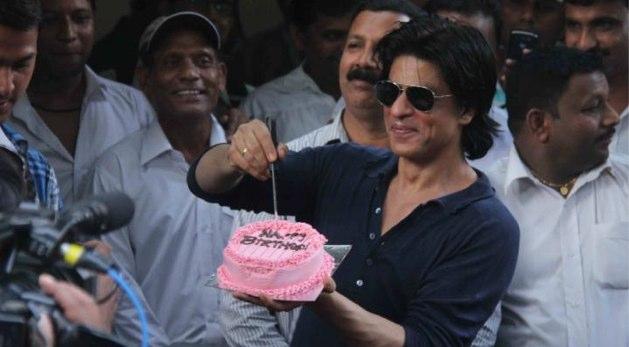 Shahrukh Khan Birthday Cake