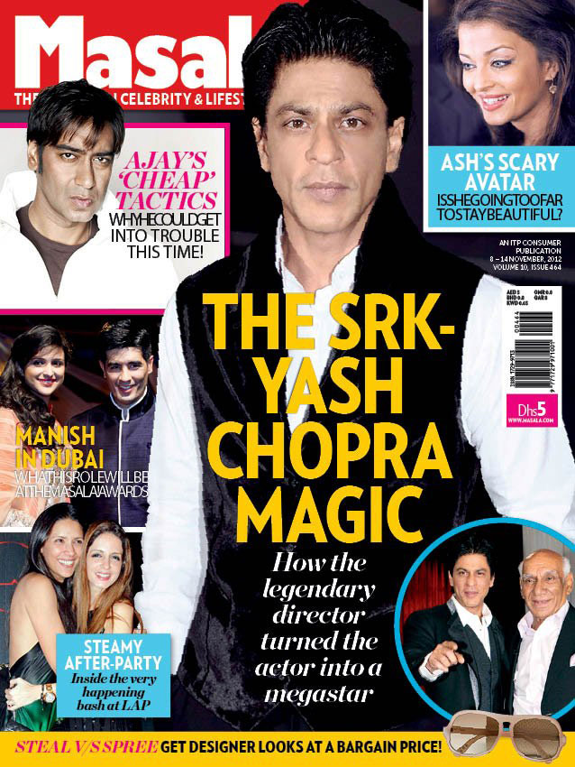 Shahrukh Khan on the cover of Masala