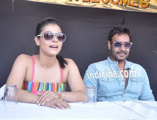 Ajay Devgan with wife Kajol