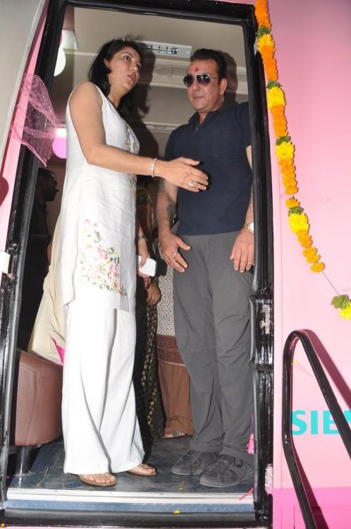 Sanjay Dutt with sister Priya Dutt