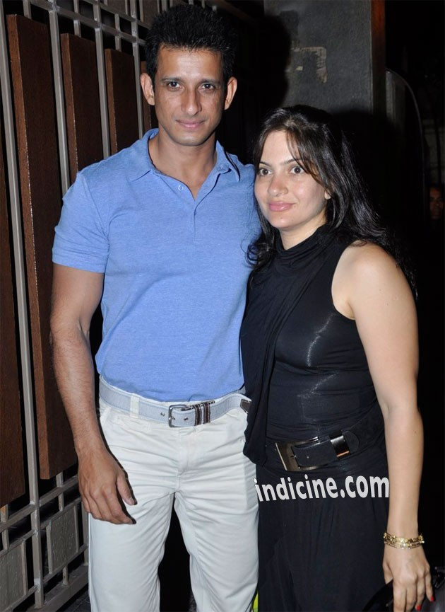 Sharman Joshi with wife Prerana Chopra