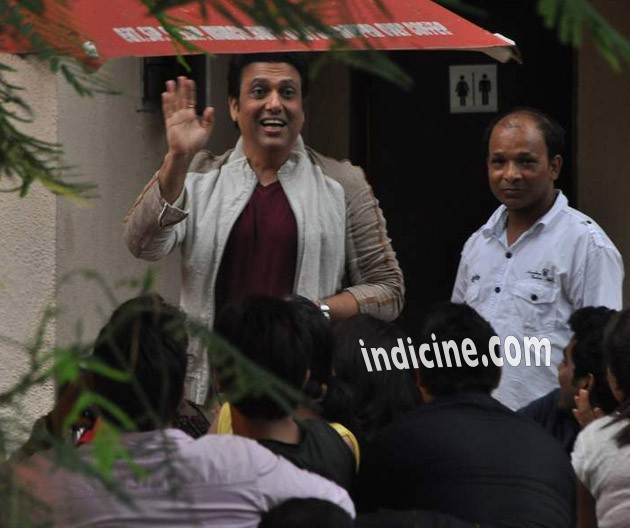 Govinda Thuppakki Hindi Remake on location