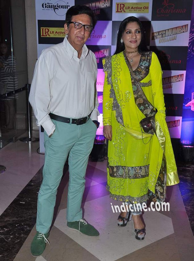Kailash Surendranath with wife Aarti