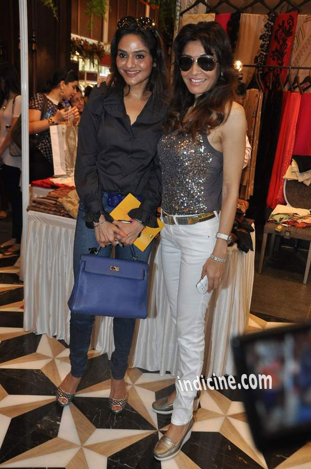 Madhoo and Queenie Dhody