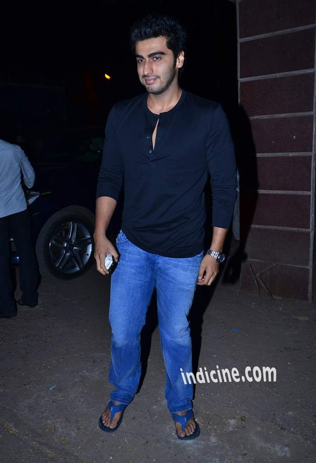 Arjun Kapoor at special screening of The Wolf Of Wall Street
