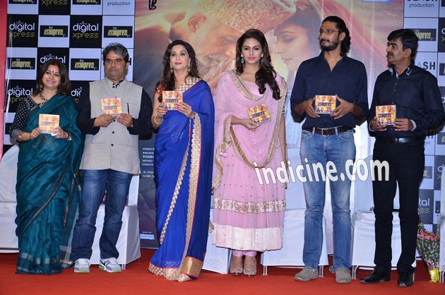 Audio release of Dedh Ishqiya