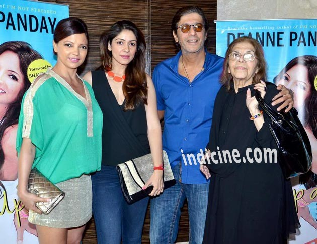 Deanne Panday, Bhavna Pandey, Chunky Pandey and Snehlata Pandey