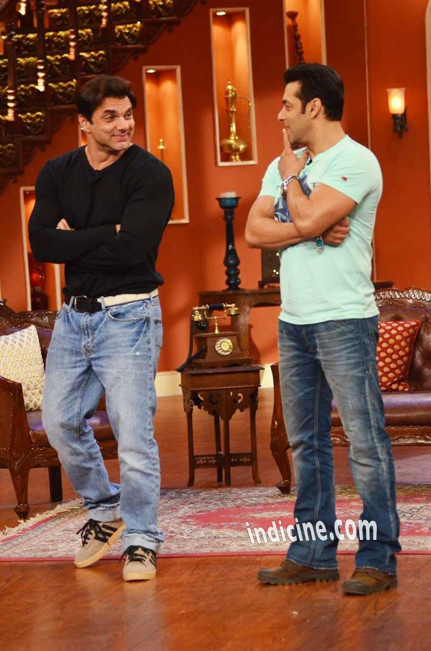 Sohail Khan with brother Salman Khan