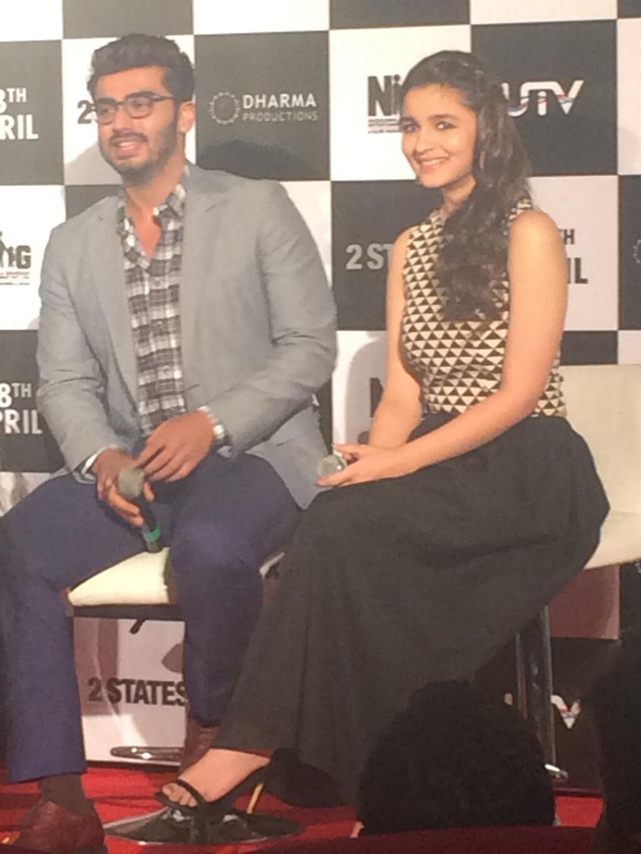 Arjun Kapoor, Alia Bhatt unveil 2 States trailer