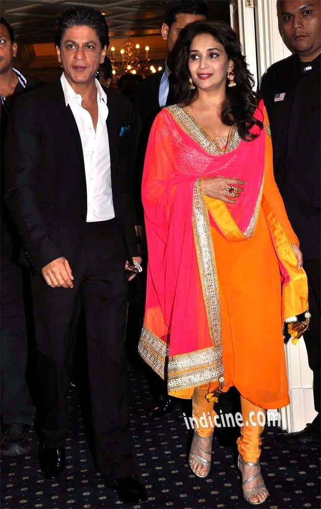 Shahrukh Khan, Madhuri Dixit at Malaysia Temptation Reloaded