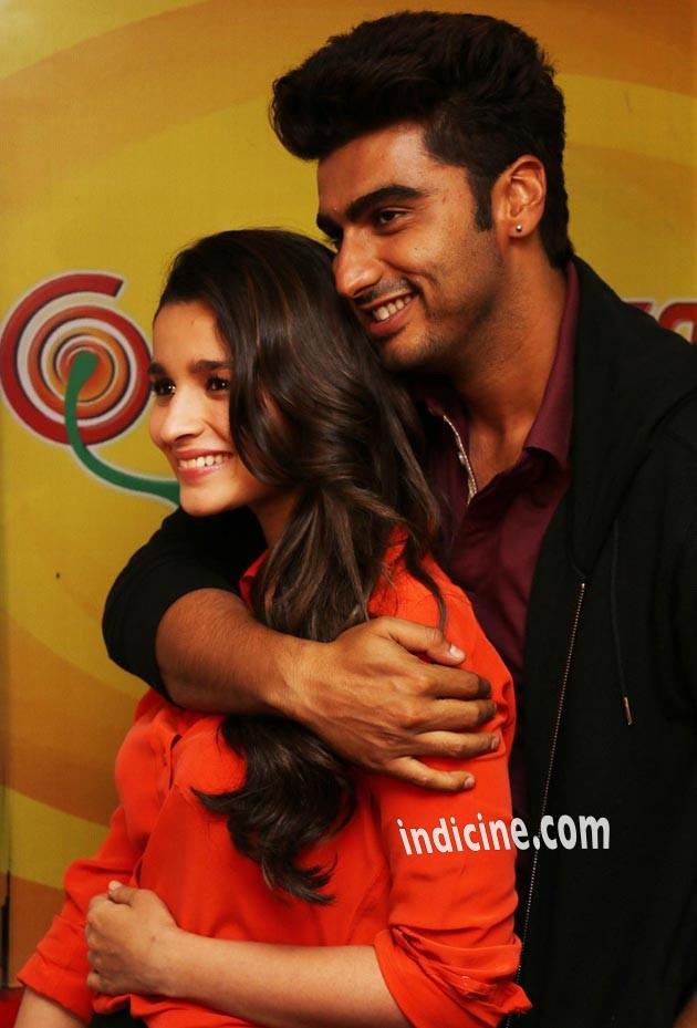 Arjun Kapoor with Alia Bhatt