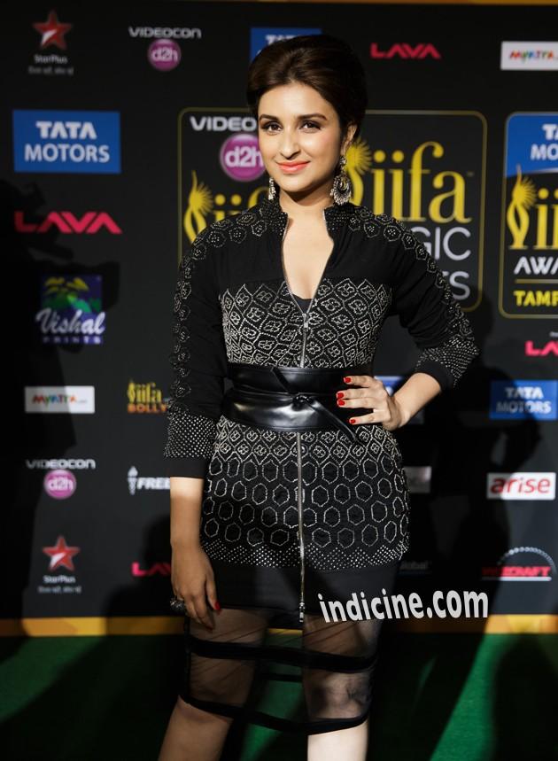 Parineeti Chopra at IIFA Awards Green Carpet