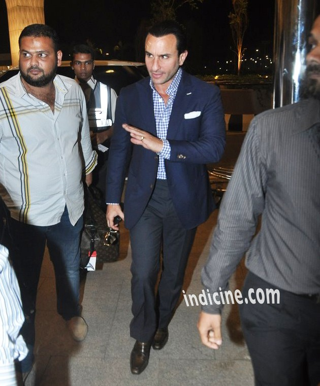Saif Ali Khan leaves for IIFA