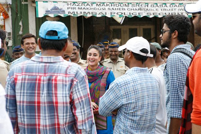 Singham 2 shooting at Makhdum Shah Baba Dargah in Mahim