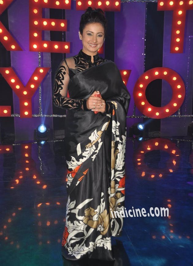 Divya Dutta at NDTV's show Ticket To Bollywood