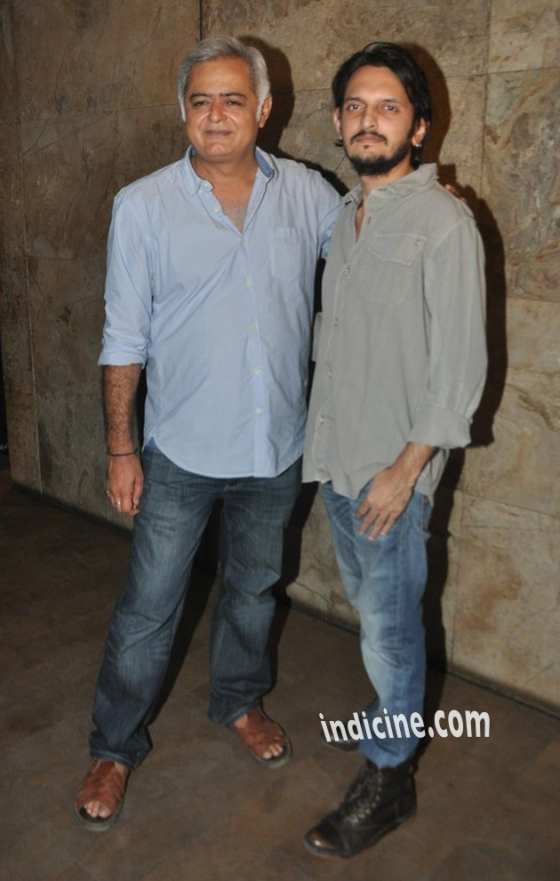 Hansal Mehta with Vishesh Bhatt