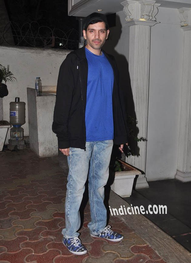 Kush Sinha at Pankaj Kapoor's birthday bash