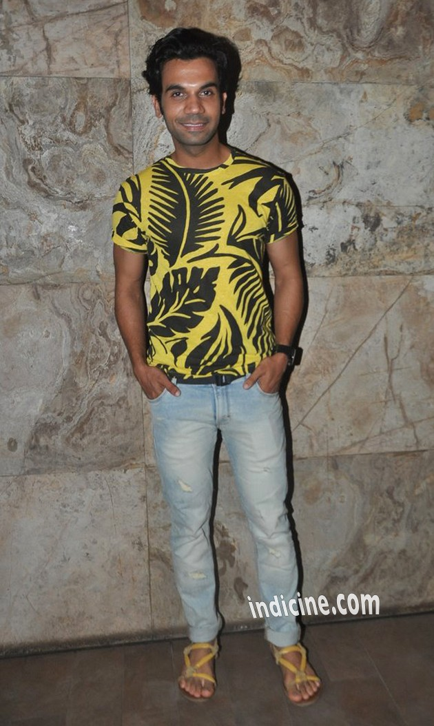 Rajkummar Rao at special screening of CityLights
