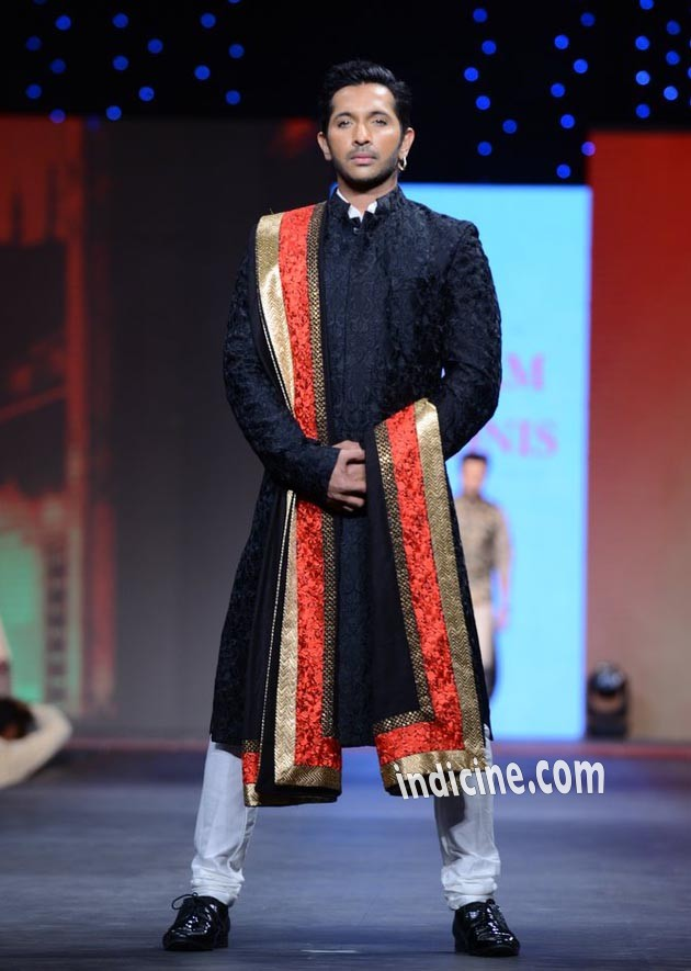 Terence Lewis walks for CPAA