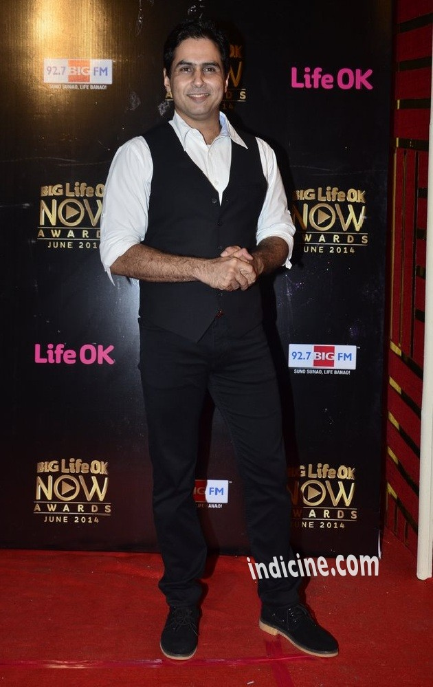 Aman Verma at Big Life OK Now Awards
