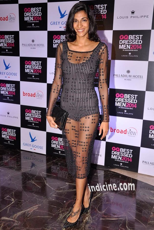 Anushka Manchandani at GQ Best Dressed Men 2014 awards