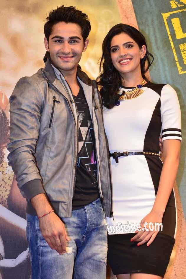 Armaan Jain with Deeksha Seth