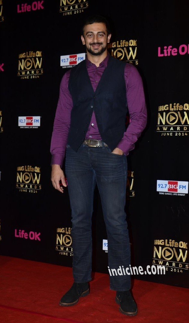 Arunoday Singh at Big Life OK Now Awards 2014