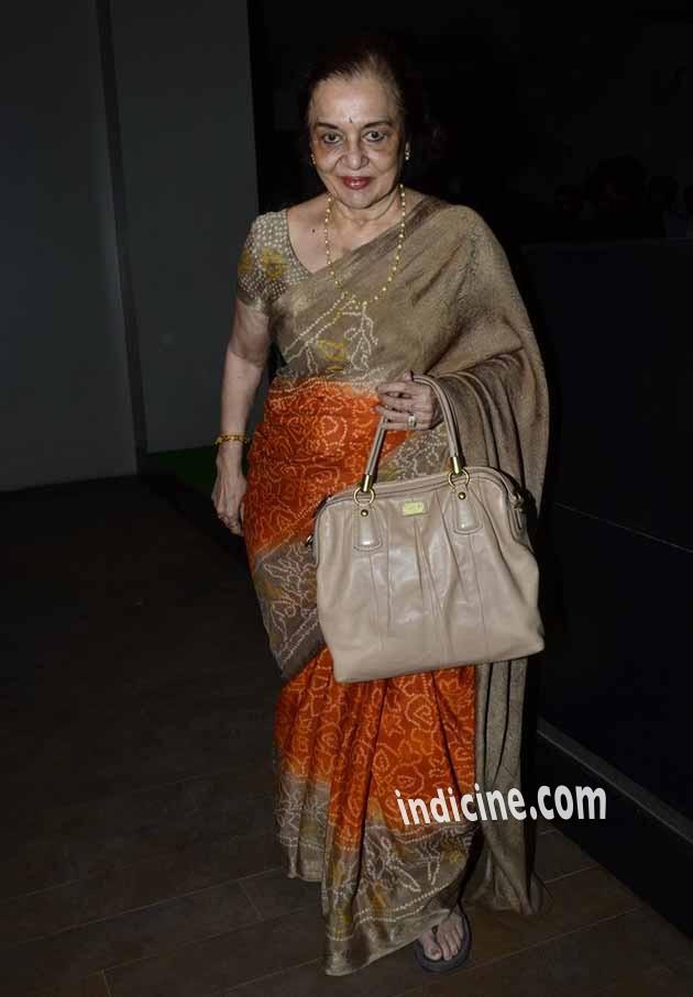 Asha Parekh at Humshakals special screening
