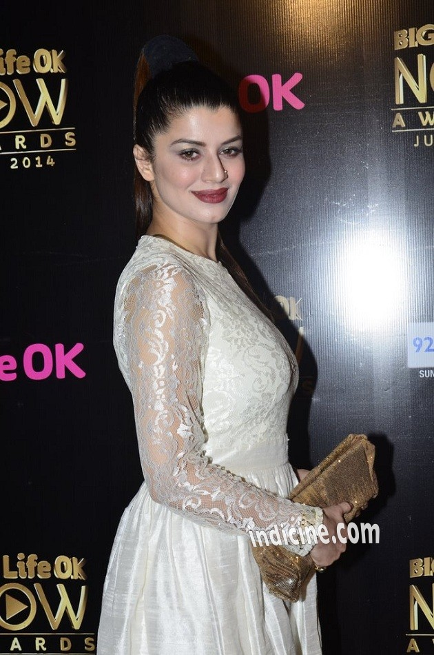 Kainaat Arora at Big Life OK Now Awards 2014