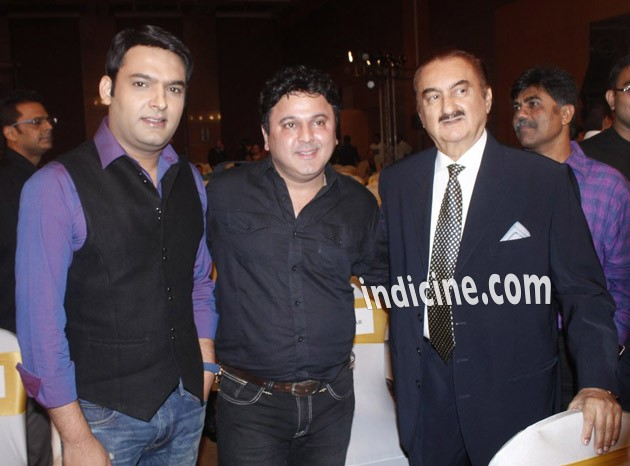 Kapil Sharma with Ali Asghar