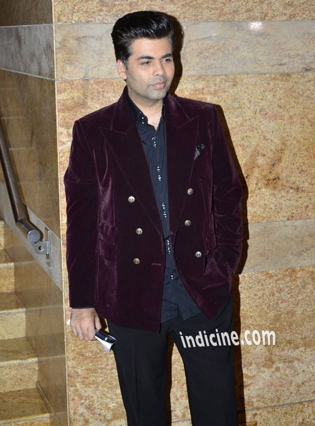 Karan Johar at Dilip Kumar's autobiography launch red carpet