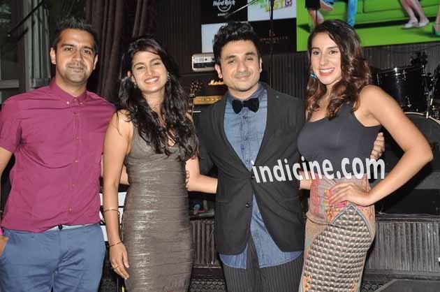 Kavi Shastri, Vega Tamotia, Vir Das and Anindita Nayar