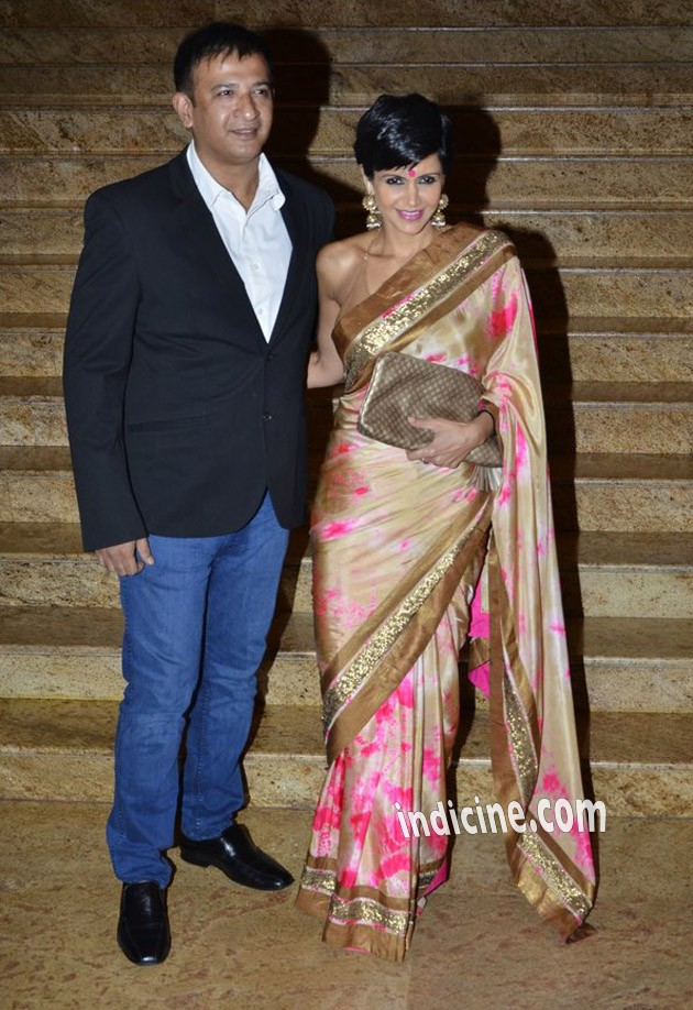 Mandira Bedi with husband Raj Kaushal