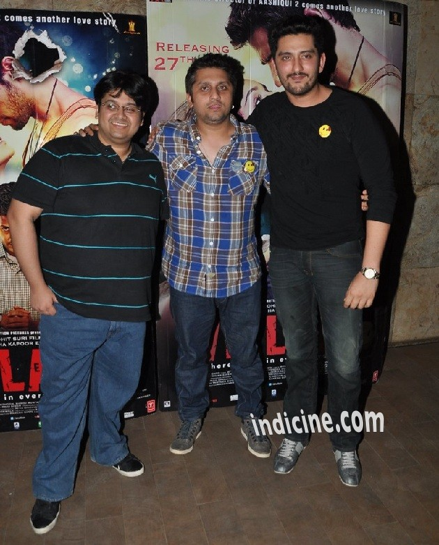 Mohit Suri with Shaad Randhawa