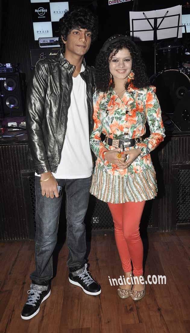 Palash Muchhal, Palak Muchhal at Amit Sahni Ki List music launch